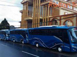 Daftar Harga Sewa Bus Pariwisata di Manado Murah Terbaru